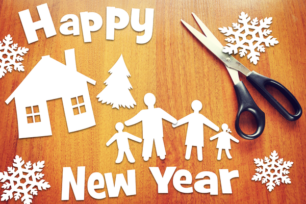 New Years Resolutions for the Whole Family