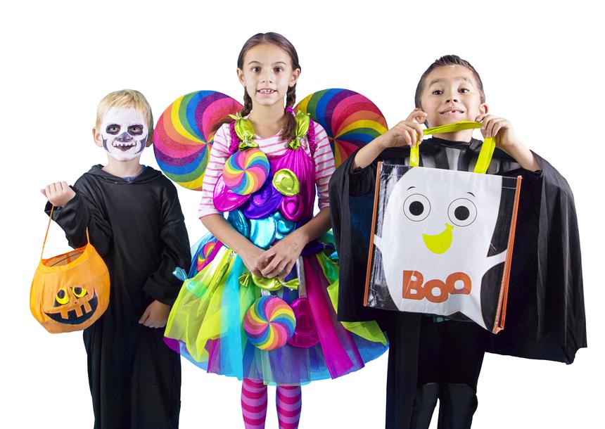 Halloween kids Trick or Treaters