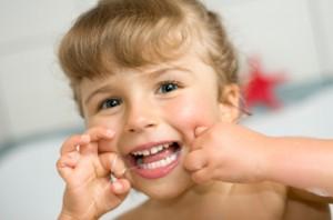 Flossing Childrens Teeth